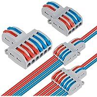 Compacte draadconnectoren, 18 stks DIY Hendel Moer Assortiment Leider Connector One-op-een Quick Terminal Block Wire…