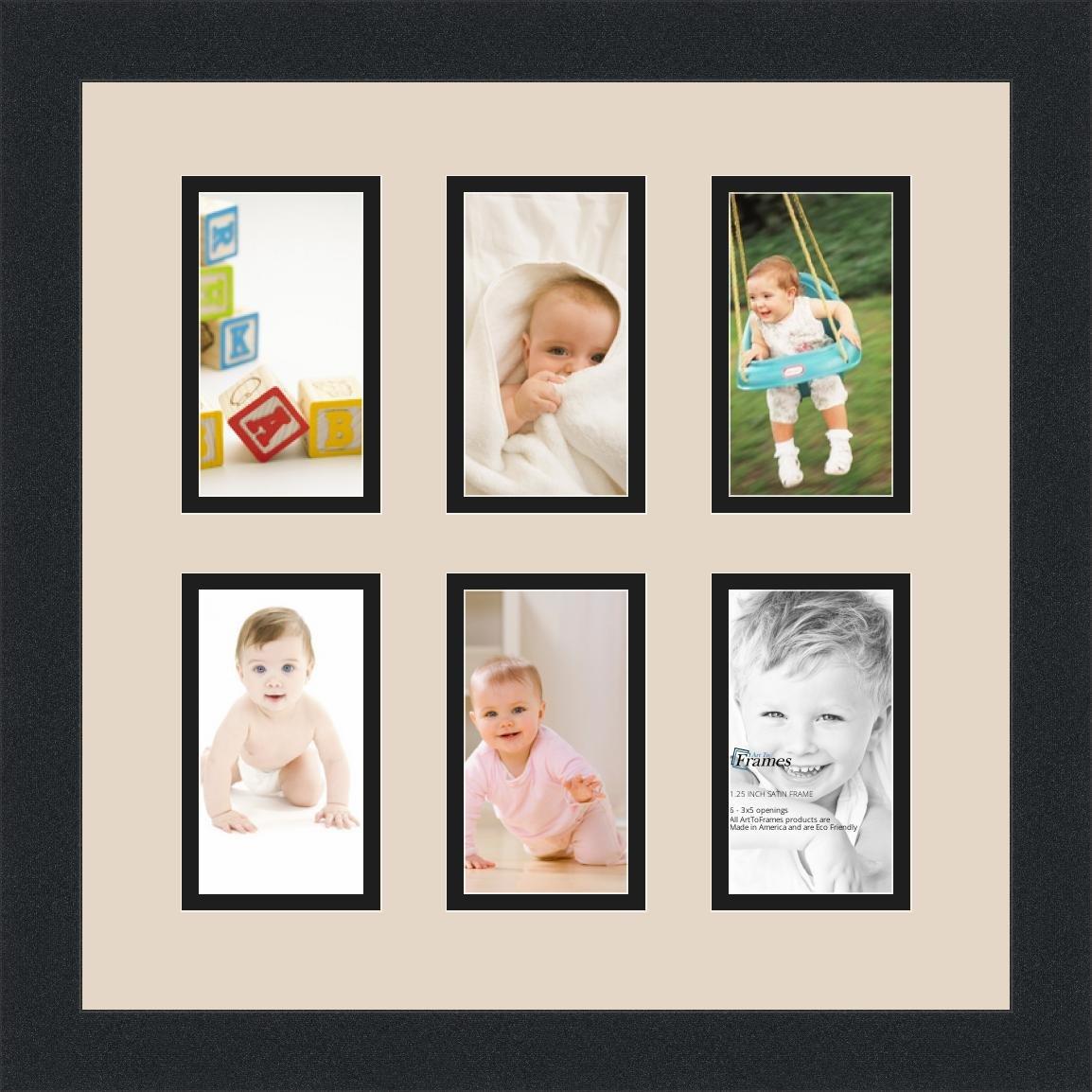 Amazon.de: arttoframes Alphabet Fotografie Bild Rahmen mit 6-3 x 5 ...