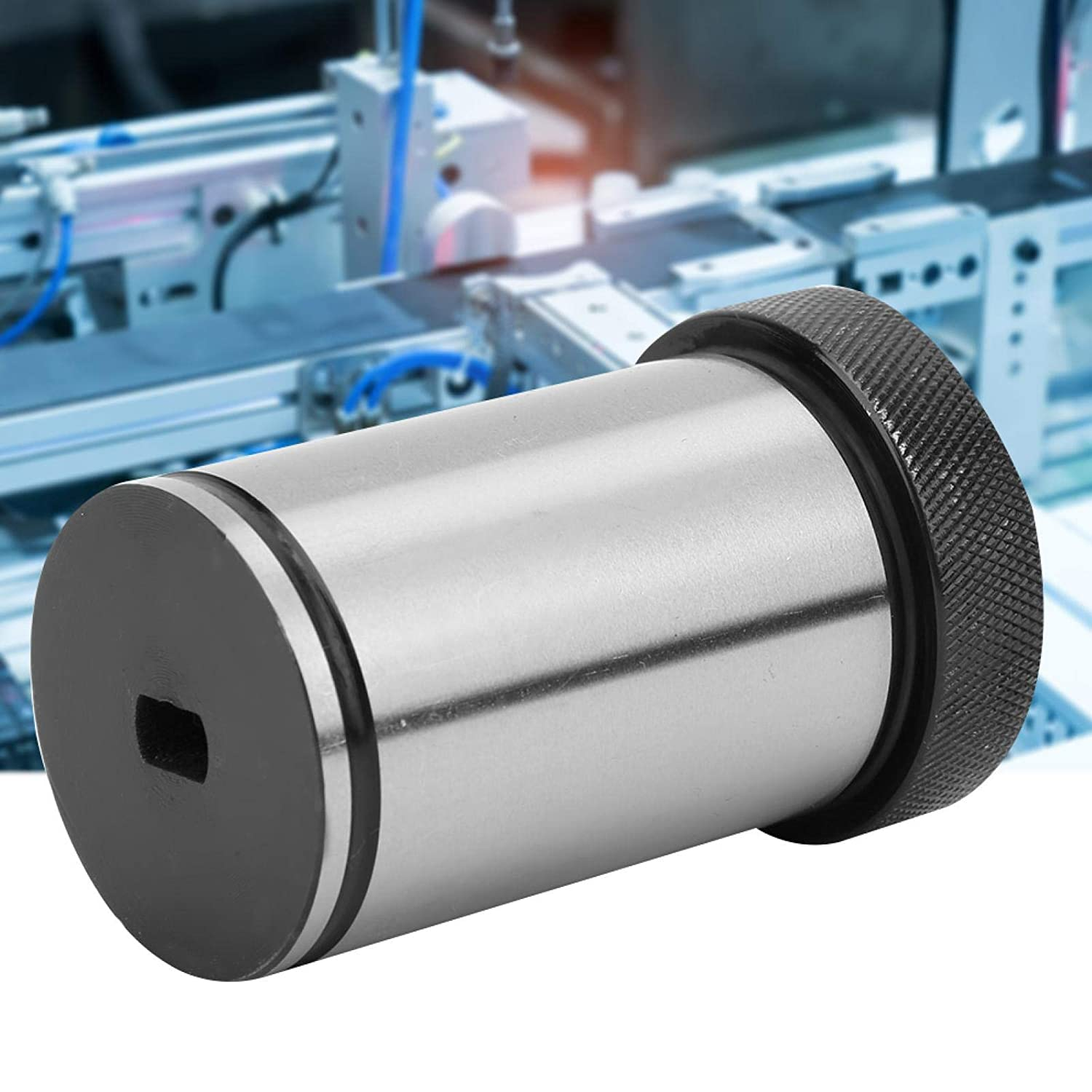 Lathe Parts Accurate High Strength for Automatic Centering Steel 40Cr High Hardness Sbha25-40 Tool Holder Bushing D40-MT1 CNC Lathe Bushing