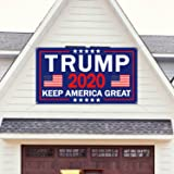 40 x 96 Flag Donald Trump for President 2020 Store Trump Keep America Great 2020 13 oz Heavy Duty Vinyl Banner Sign with Metal Grommets New Advertising