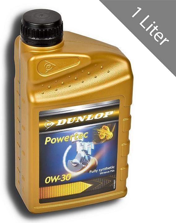 Hsm Dunlop 1 Liter 0w30 Motorenöl Vollsynthetisch Motoröl Leichtlauföl Auto