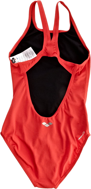 Arena Girls Malteks Youth Racer Back Swim Suit