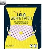 [LOLO SKINNY] 2018年型プレミアム・ロロスキーニー・腹部&脇腹管理用ボディーパッチ 10枚