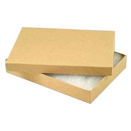 Amazon.com: Papel Kraft algodón Filled Jewelry Box # 75 ...