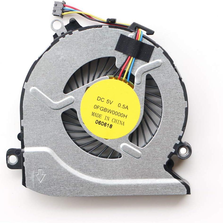 MAXROB Replacement CPU Fan for HP 15Z-a 17-G 17-G015DX TPN-Q158 812109-001 Pavilion 17-g105nk 17-g105nl 17-g105ns