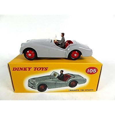 - Juego de 10 Juguetes Dinky DeAgostini - Ford SOMUA Studebaker Packard Triumph etc ... (version4): Juguetes y juegos