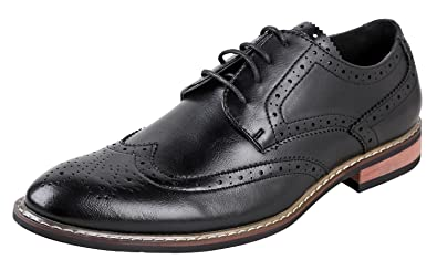 66a0383044 Urban Fox Men's Ethan Oxford Dress Shoes for Men | Formal | Lace-Up