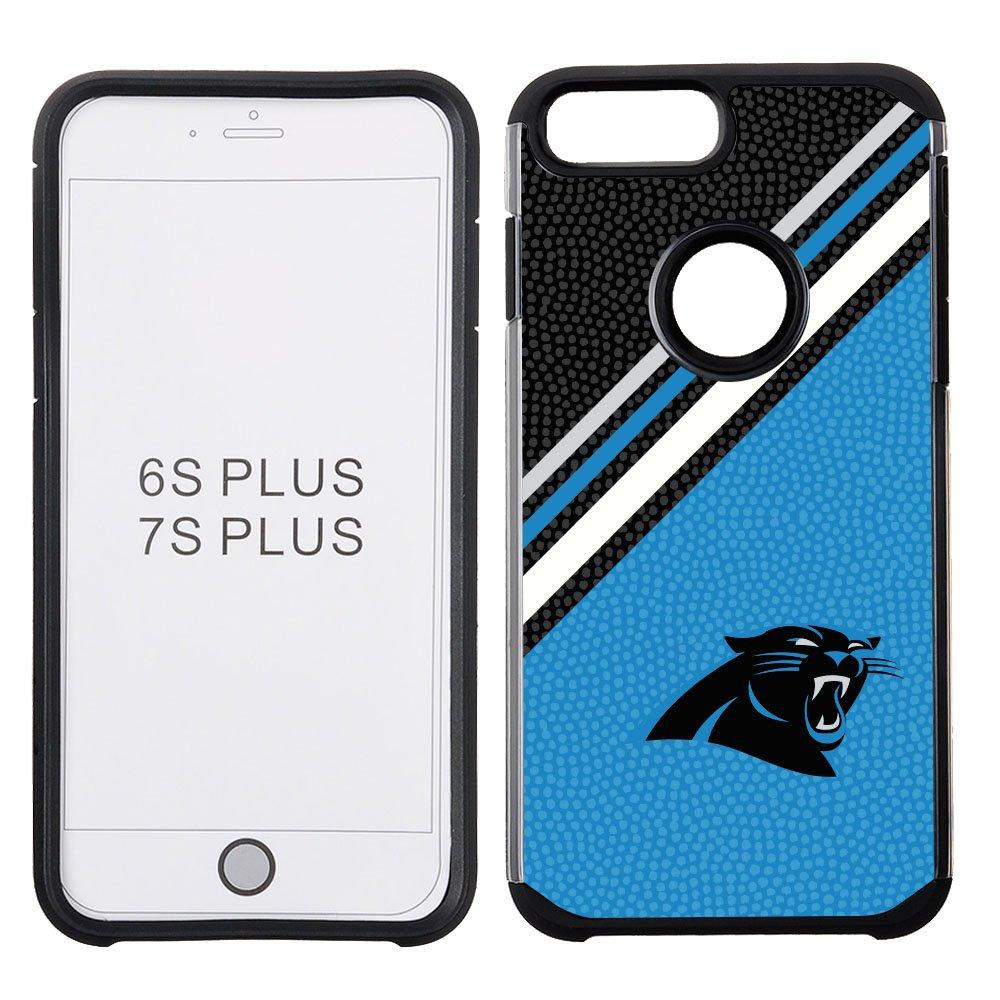 NFL Carolina Panthers Diagonal Stripes Football