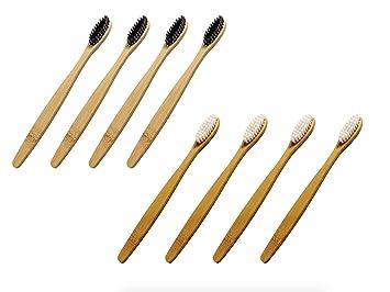Amazon.com: Cepillo de dientes de bambú de BAREBU ...
