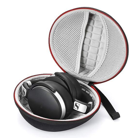 Estuche rígido para Sennheiser HD 4.40 BT/HD 4.50 BTNC Auriculares inalámbricos con Bluetooth, Bolsa de Almacenamiento de Viaje Que Lleva: Amazon.es: ...