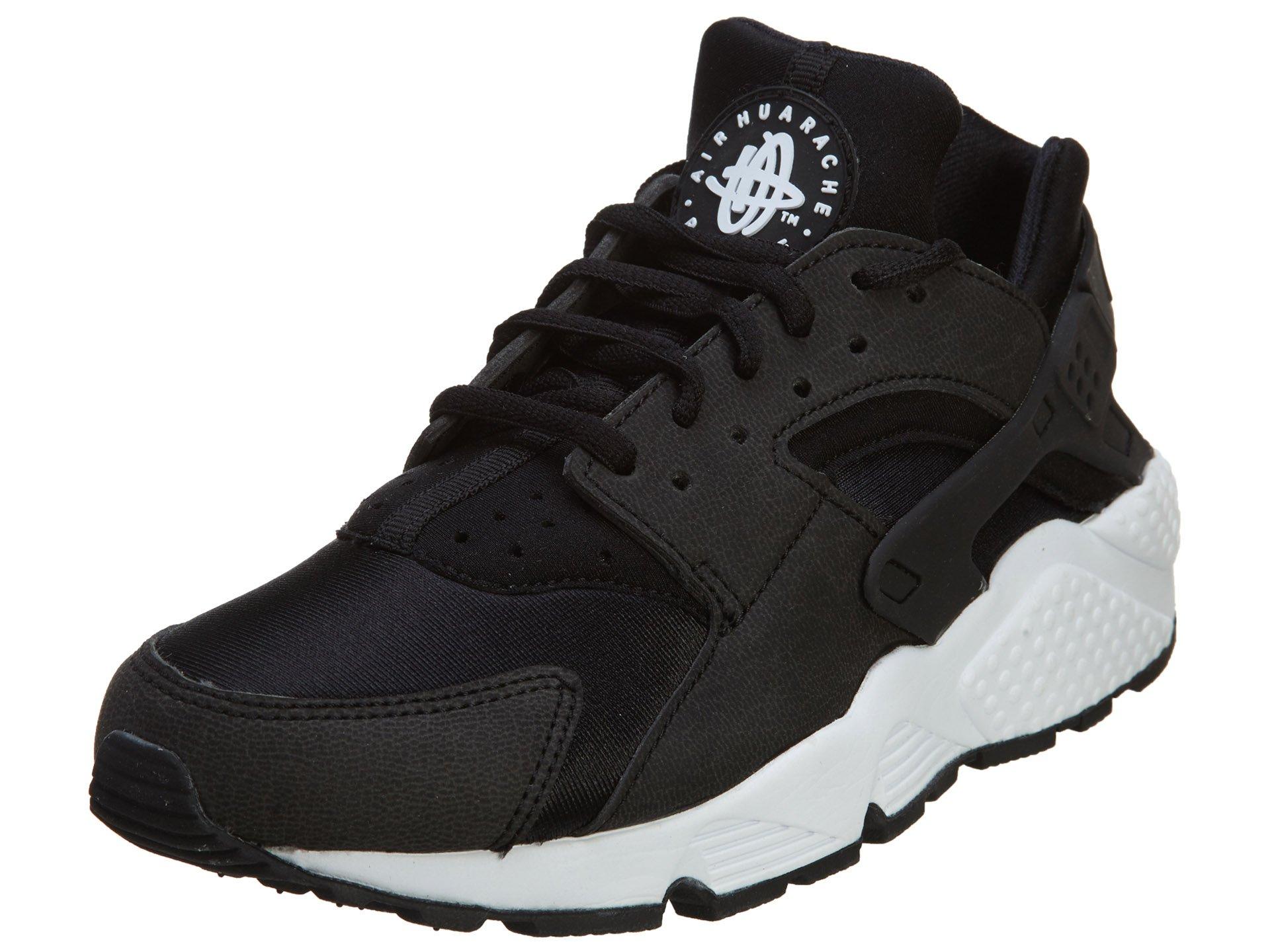 ddbf3d74afcc9 Galleon - Nike - WMNS AIR Huarache Run  634835-006  Black Black White 8