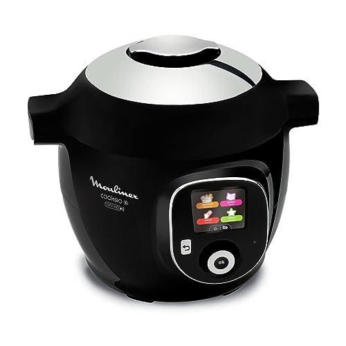 Moulinex Multicuiseur Intelligent Cookeo + Connect Application connectée via Bluetooth 150 recettes 6L YY2942FB
