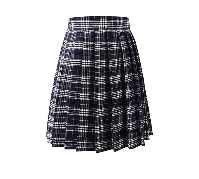 Amazon.com: MRxcff-Junior Girls Uniformes, falda plisada ...