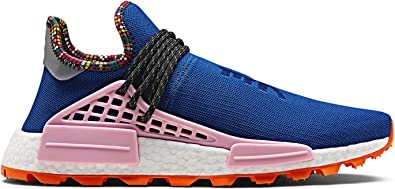 Caballero otro Inocencia  Amazon.com | adidas NMD HU Pharrell Williams Human Race Inspiration Pack  Powder Blue EE7579 US Size 10.5 | Fashion Sneakers