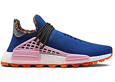 3f9ed56e15cd6 Image Unavailable. Image not available for. Color  adidas NMD HU Pharrell  Williams Human Race Inspiration Pack Powder Blue EE7579 US Size 10.5