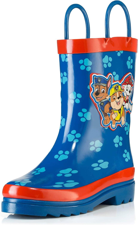 Nickelodeon Boys Paw Patrol Rubber Wellington Boots