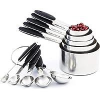 KANEED Set dustensiles de cuisine complets pour ustensiles de cuisine Tasse /à mesurer gateau pour distributeur de p/âte de 900 ml Meilleurs gadgets de cuisine pour cadeau