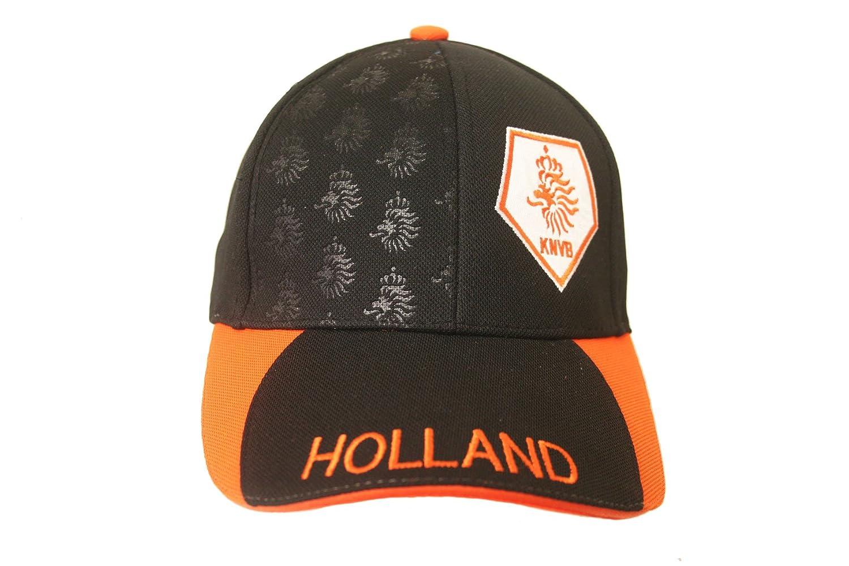 オランダHollandブラックオレンジKnvbロゴonつばFIFA Soccer世界Cupエンボス加工帽子キャップ新しい – WC。。高品質。。。。新しい   B00SRKQ3LA