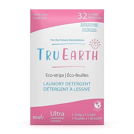 Tru Earth Eco Strips Baby Laundry Detergent Hypoallergenic Baby