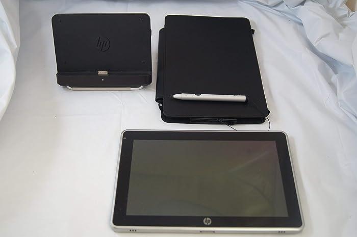 Hp Slate 500 Tablet Atom Z540 1.86ghz Cpu 2gb Ram 64gb Ssd w/ Dock Stylus & Leather Case (Renewed)