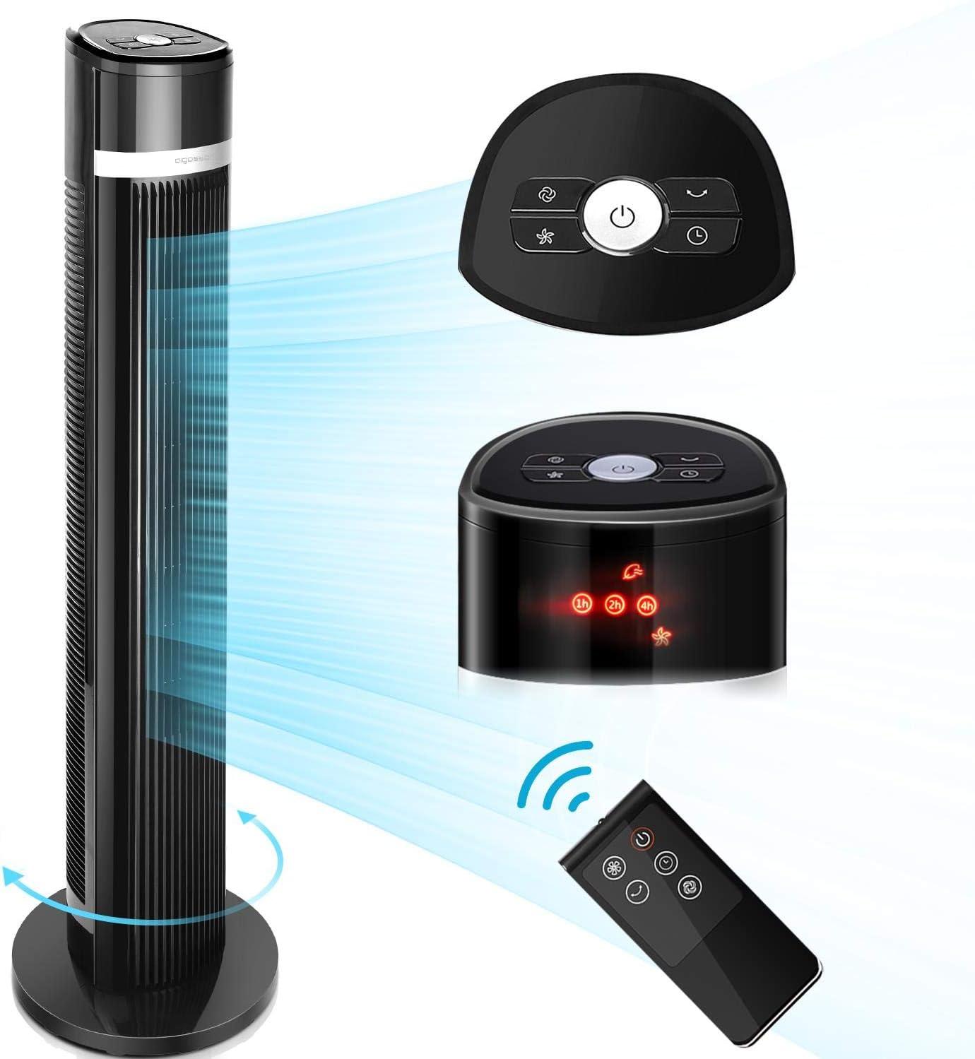 Aigostar Ross – Ventilador de Torre Digital, mando a distancia ...
