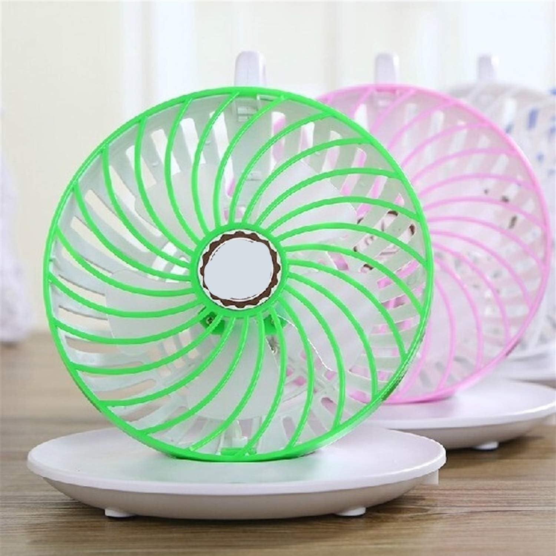 Color : White Convenient Convenient Fashion Cup Shape Fan Mini USB Chargeable Fan 2 Gear Adjustment Portable Small Fan Hanging Fan Table Fan Fashion