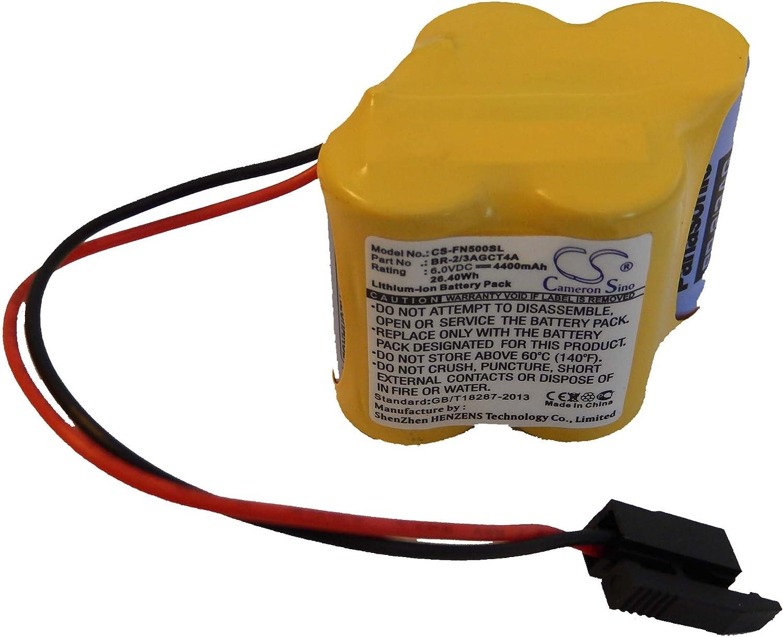 pour Ge Fanuc Amplifier Beta iSVSP vhbw Batterie Li-ION 4400mAh 6V Amplifier Beta iSVSPc comme BR-2//3AGCT4A.