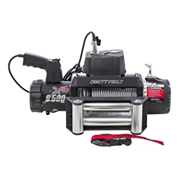 amazon com smittybilt 97495 xrc winch 9500 lb load capacity smittybilt 97495 xrc winch 9500 lb load capacity