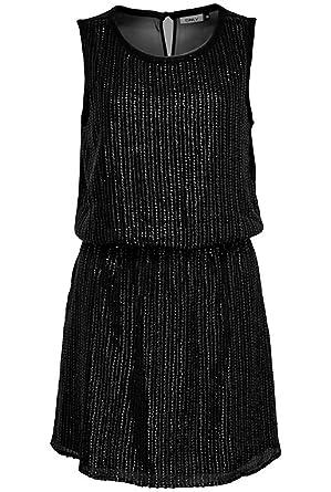Only Schwarzes Kleid mit Pailletten: Amazon.de: Bekleidung