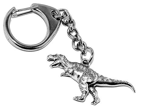 Llavero de peltre Tyrannosaurus rex dinosaurio (viene en ...