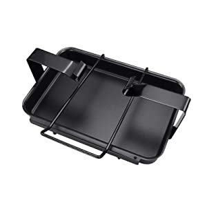 Utheer 7515 9 x 7.4 x 3 inches Grill Drip Pan Catch Pan Holder for Weber Genesis 1000 5500 Gas Grills Grease Collection Pan Replacement