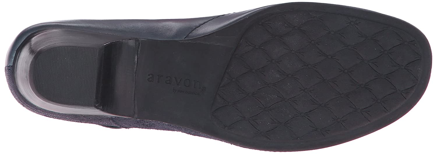 Aravon Women's Portia - AR Dress Pump B00UU3VN9Y 12 D US|Navy Multi