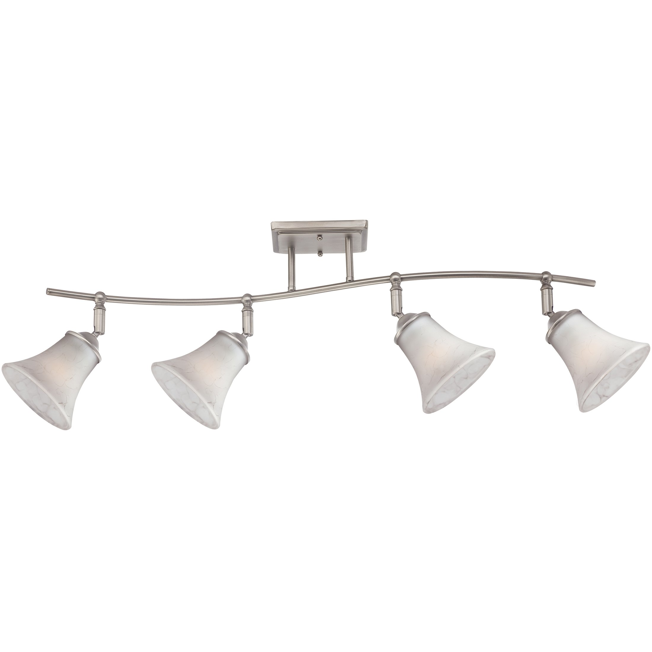 Quoizel DH1404AN Duchess Adjustable Track Kits Lighting, 4-Light, 400 Watts, Antique Nickel (13'' H x 37'' W)
