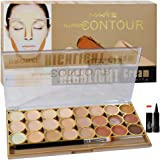 Mars All Rpund Contour Bronze Highlight Cream Palette Laperla Kajal, 70gm