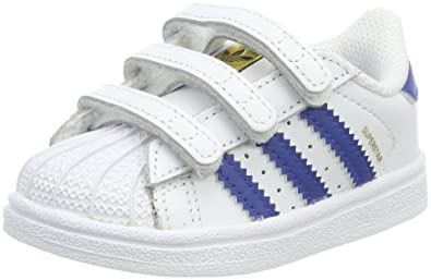 adidas Superstar CF I, Baskets Mixte bébé