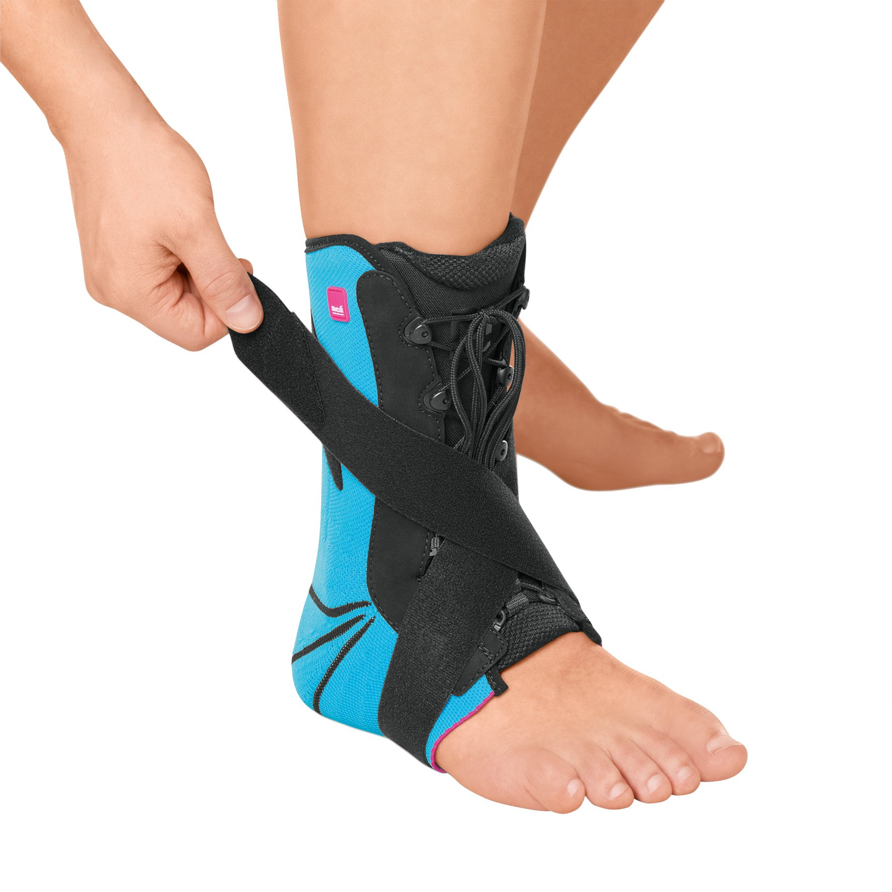 Medi Levamed Stabili-Tri Knit Ankle Support (Blue) Right Size III
