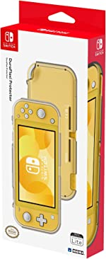 Nintendo Switch Lite DuraFlexi Protector (Clear) By HORI - Officially Licensed