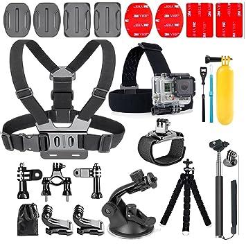 YHTSPORT 20-In-1 para accesorios Gopro, Kit de accesorios para cámara de