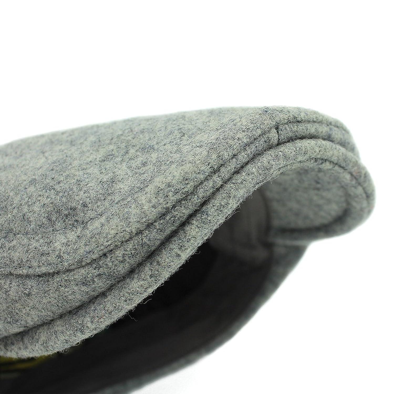 Outfly Sombrero plano de pico de pato Lana Gatsby Boinas Cap Invierno O8naoVNb