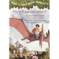 Magic Tree House Boxed Set, Books 1-4: Dinosaurs Before Dark, The Knight at Dawn...