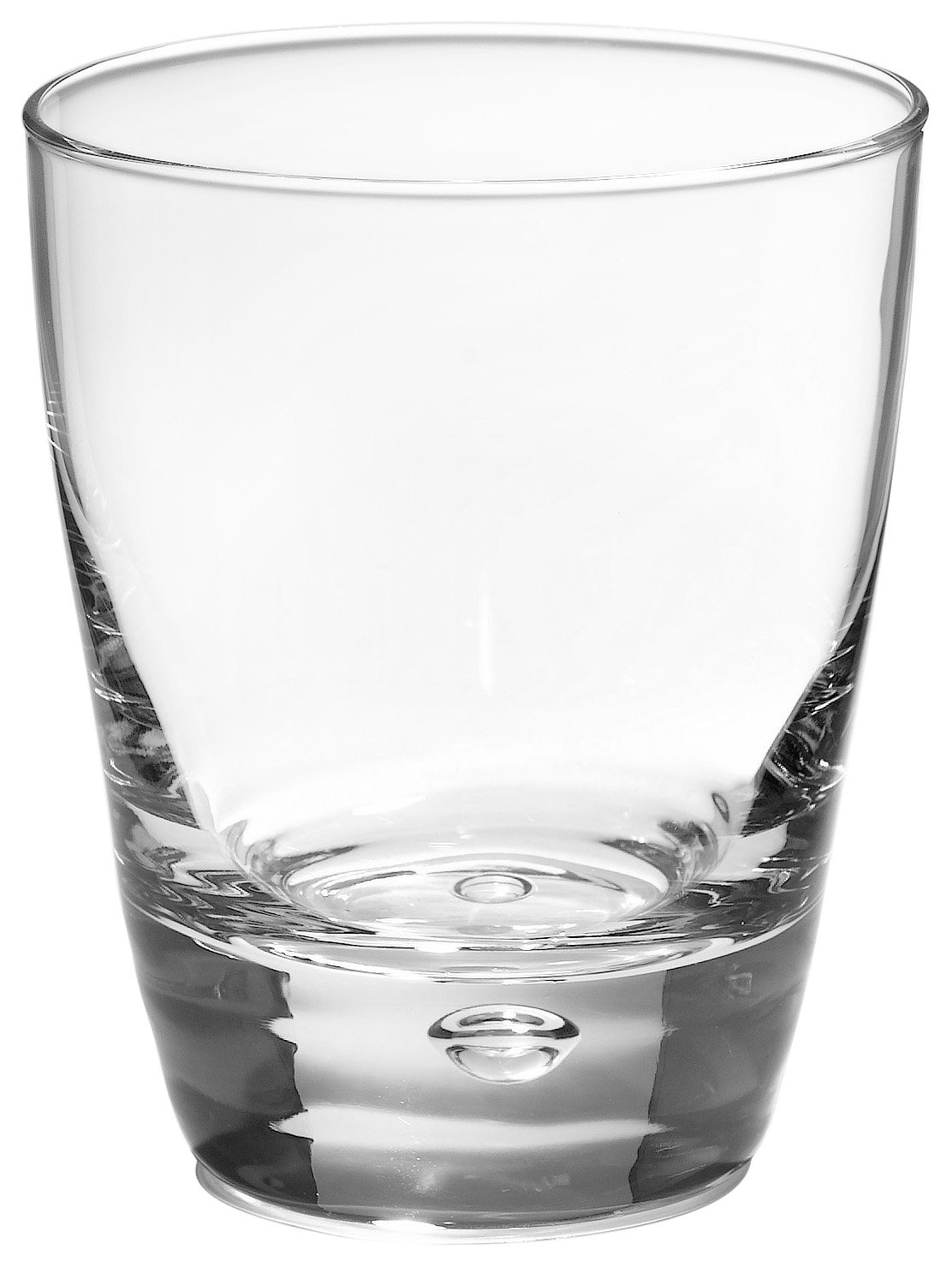 Bormioli Rocco Luna Tumbler Beverage Glasses, Set of 12 191190M04321990