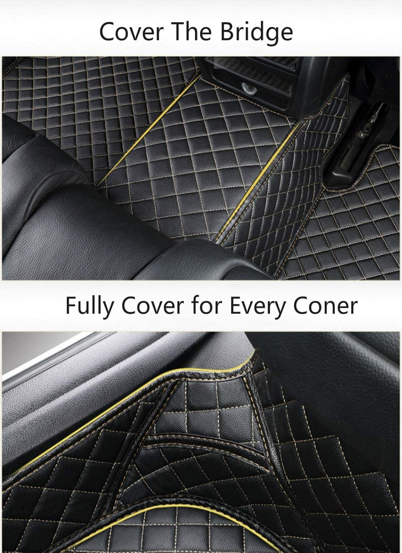 Custom Car Floor Mats for Buick Envision 2014-2019 High Match All Weather Waterproof Non-Slip Full Covered Protection Advanced Performance Liners Car Liner Black