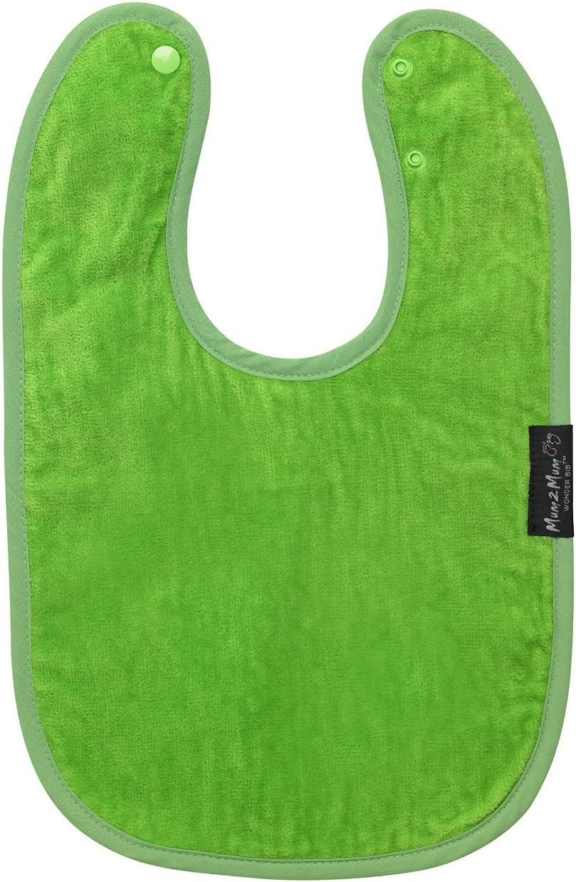 MUM2MUM Standard Wonder Baby Bib 100/% Cotton Water Resistant Protect From Ezcema