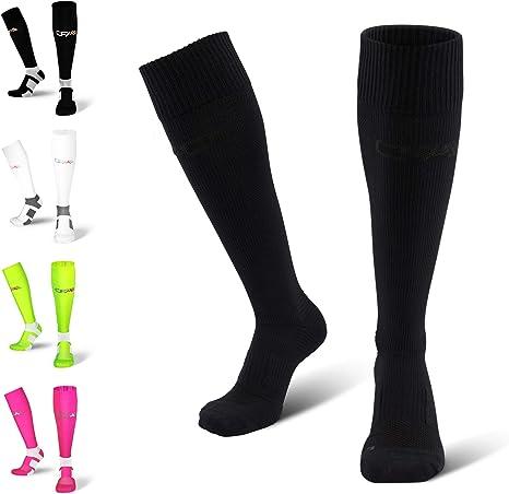 UK Men Ladies Women Compression Sports Running Cycling Long Cotton Socks Hot