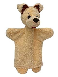 ABA ABA71069Dog Hand Puppet, 29cm, beige