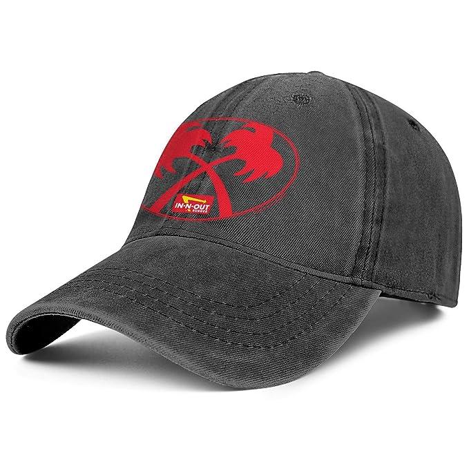 b9965de3ba868c in-N-Out Burger Palm Trees Logo Men & Women hat Adjustable Cowboy hat