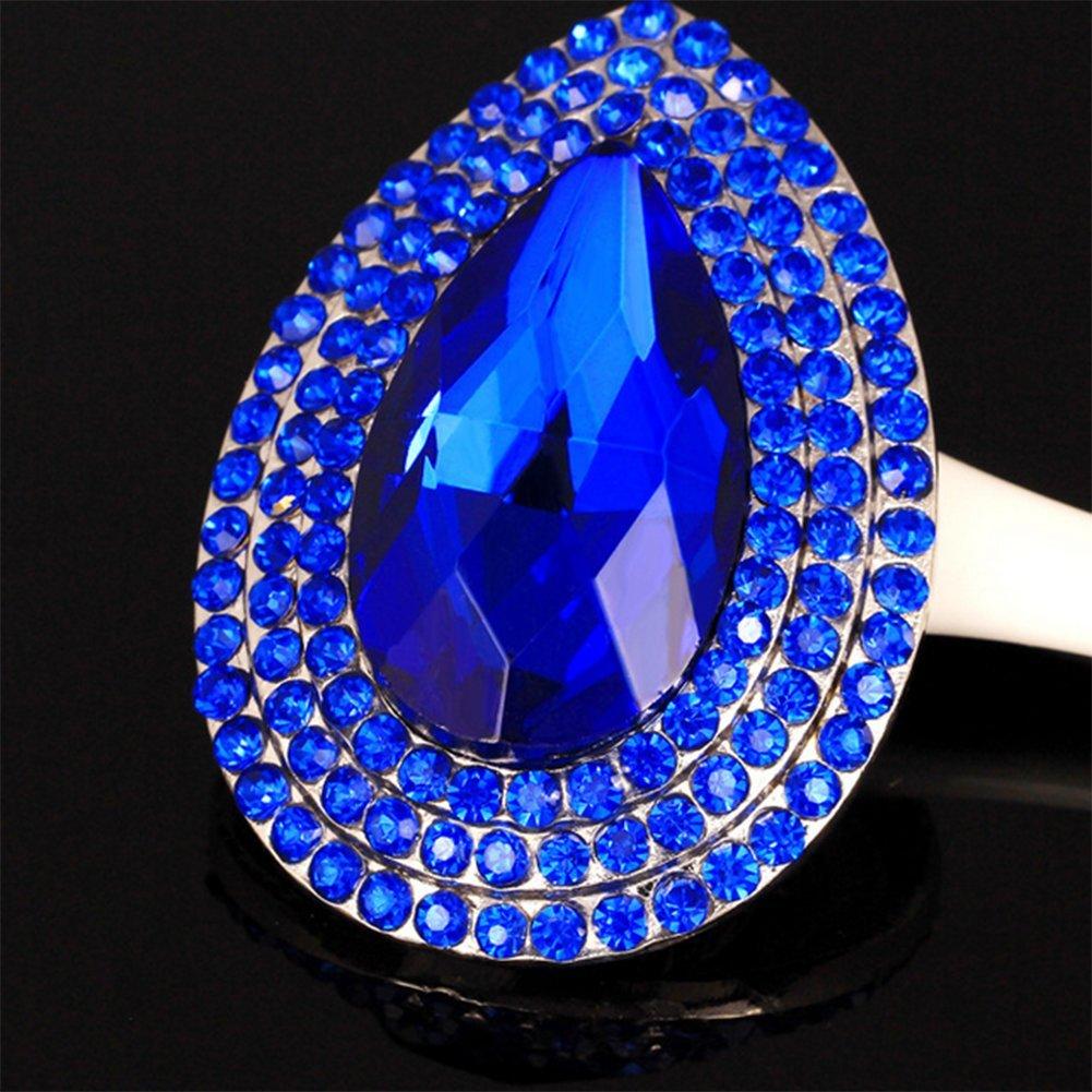 Wicemoon 1pcs Broche de Diamantes de Imitaci/ón de Cristal de Gota de Agua Vintage Para Mujer Accesorios