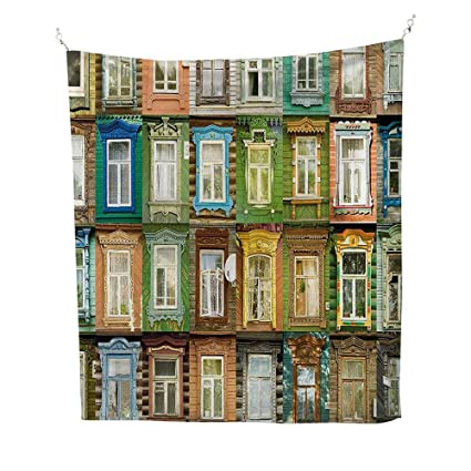 Wall Tapestry Home Decor 60W X 80L INCH Tapestries DormsLandscape European Old Vintage Retro Russian