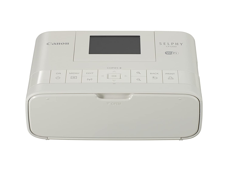 Canon SELPHY CP1200 Impresora de Foto Pintar por sublimació n 300 x 300 dpi WiFi - Impresora fotográ fica (Pintar por sublimació n, 300 x 300 dpi, 24 bit, 3 Colores, Cassette, LCD) 0600C010