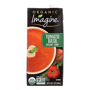 Imagine Foods Organic Tomato Basil Soup, 32 Ounce -- 12 per case.